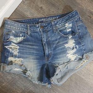 AEO High Rise Festival Sequin Pocket Shorts